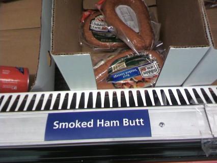 Smoked Ham Butt