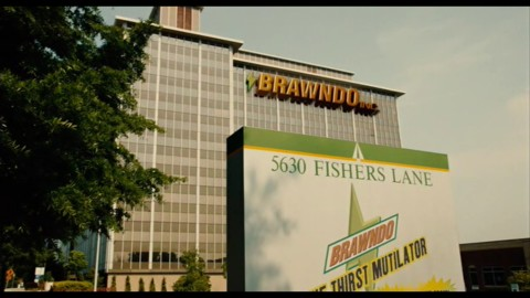 The HRSA Parklawn Building in Rockville MD is the headquarters of the evil corporate conglomerate Brawndo in the movie Idiocracy.