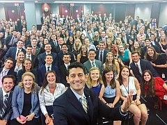 Paul Ryan's white interns